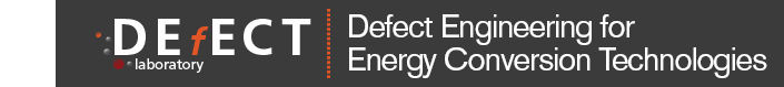 DEfECT Lab: Defect Engineering for Energy Conversion Technologies