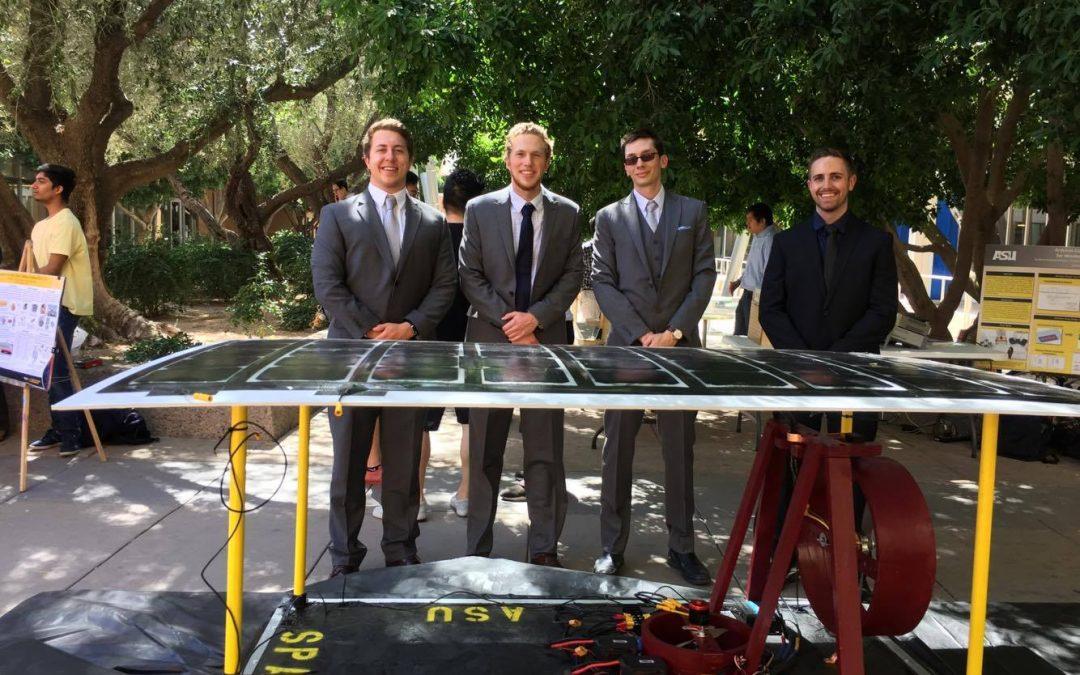 Check out Defectlab'er Jacob Clenney's senior design project – a solar hover craft