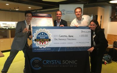 ASU / Crystal Sonic move to the Finals of Round 1 of the American-Made Solar Prize